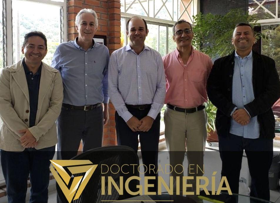 El Dr. Juan Manuel Montes Hincapié visitó el Doctorado en Ingeniería UNAB