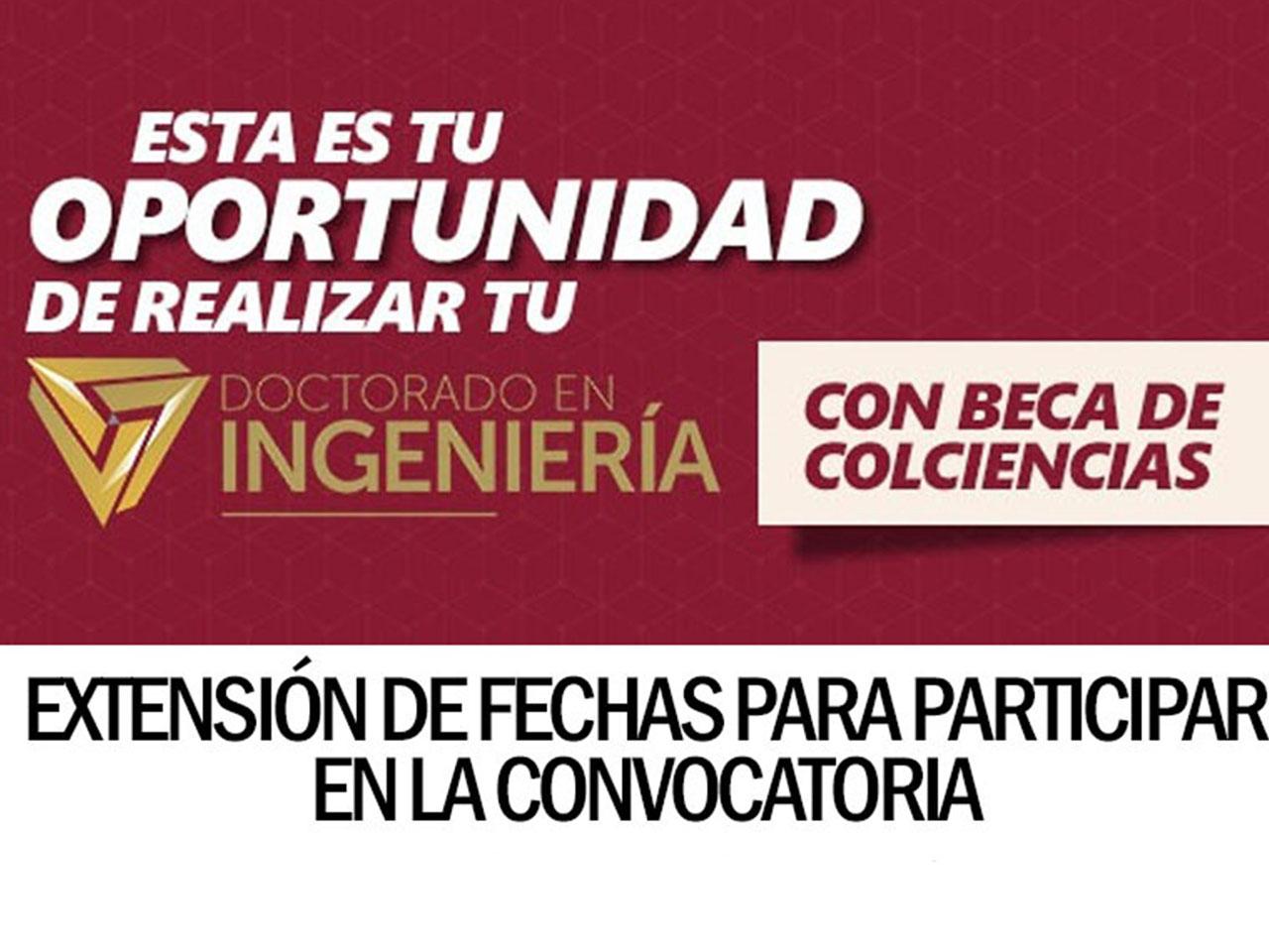 Extensión de fechas Convocatoria Bicentenario Colciencias