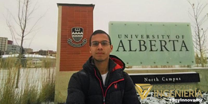 Uno de los mejores, pasantía en la Universidad de Alberta Canadá